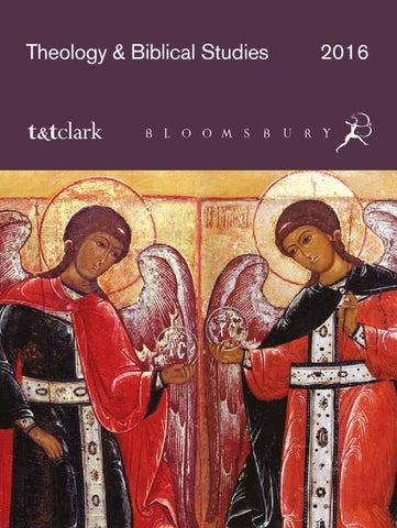 Theology Biblical Studies Catalogue 2016 By Bloomsbury Publishing