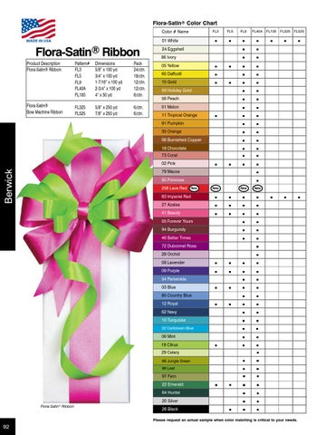 2014 2015 Berwick Offray Wholesale Catalog By Lion Ribbon Issuu