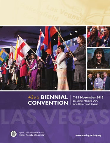 43rd Biennial Convention Program by Sigma Theta Tau International