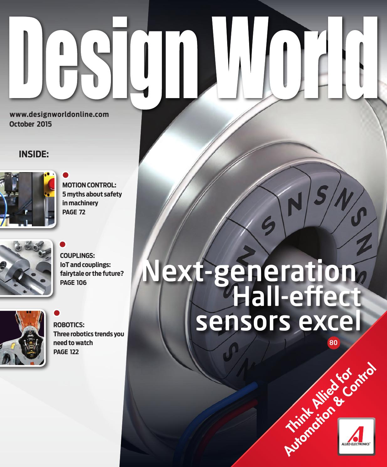 Design World October 2015 By Wtwh Media Llc Issuu Mc Supply Co Bodine Electric Kb Electronics Brake Motor Stepper
