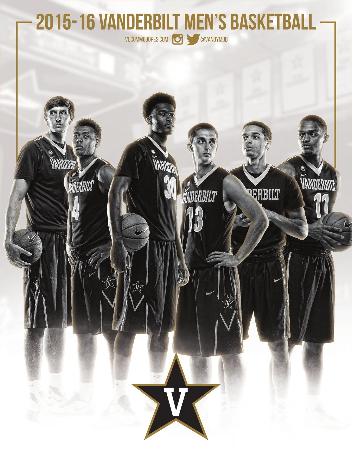 2015-16 Vanderbilt Men s Basketball Fact Book by Vanderbilt Commodores -  issuu 96975f988