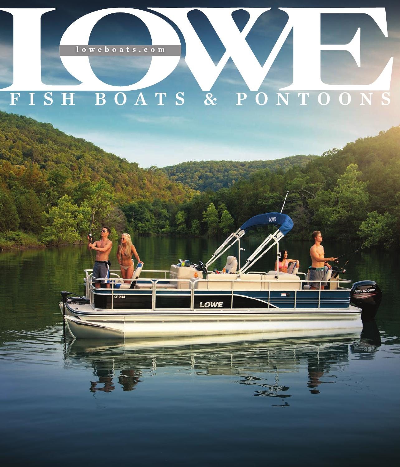 Lowe 2016 Catalog By Dino Publishing Issuu Wiring Library Boat Diagram Sea Ray Bentley Pontoon New 14k Or Philteg In Of Diagrams U2022 Dayton Heater A Wall
