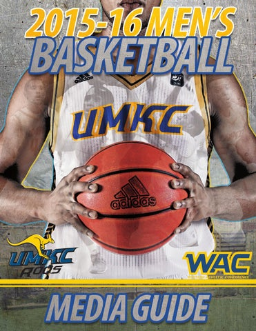 5ad4b4155c04 2015-16 UMKC Men s Basketball Media Guide by Nik Busch - issuu