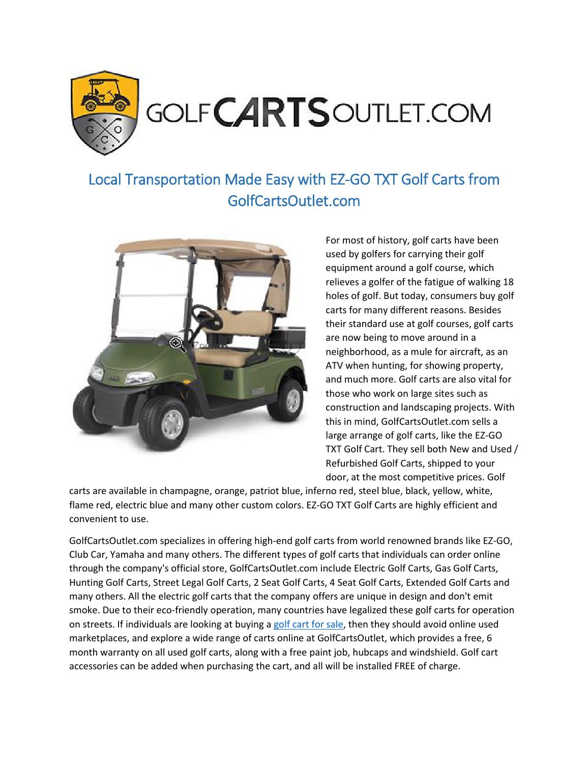 Local transportation made easy with ez go txt golf carts from ... on camper doors, fleetwood doors, grill doors, toy hauler doors, pool doors, eagle doors, quad doors, polaris doors, bus doors,