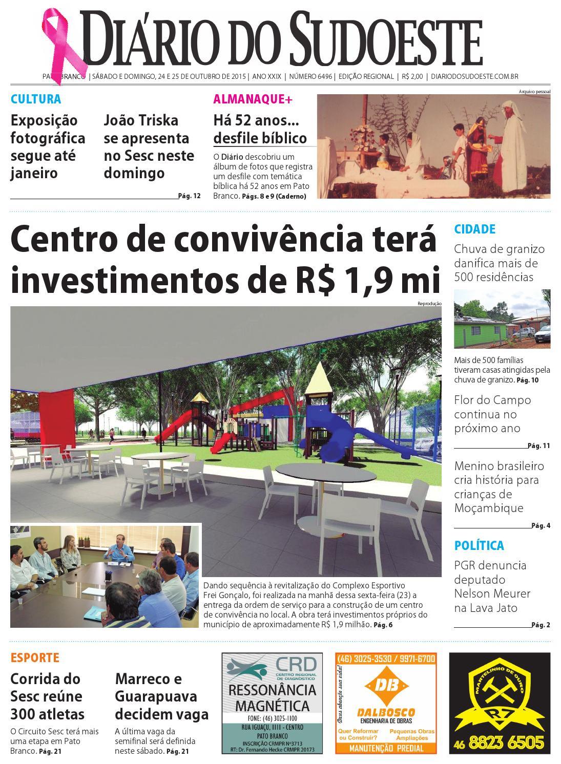 13f905468ee Diário do sudoeste 24 e 25 de outubro de 2015 ed 6496 by Diário do Sudoeste  - issuu