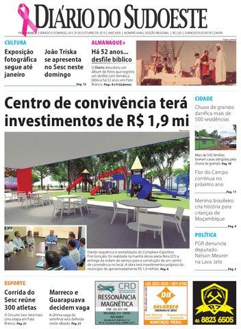 b200ca1be1 Diário do sudoeste 24 e 25 de outubro de 2015 ed 6496 by Diário do ...