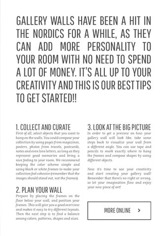Nordic Living no9: Gallery Wall Special! by Nordic Kind - issuu