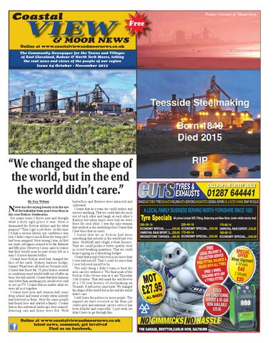 Coastal view issue 64 by coastal view and moor news issuu page 1 fandeluxe Images