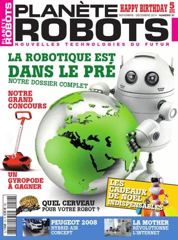 30 Issuu By Planète Robots Numéro pGSMqzVU
