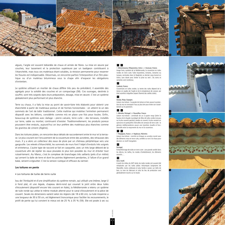 Tuile En Bois Nom architecture traditionnelle méditerranéenneasociacion