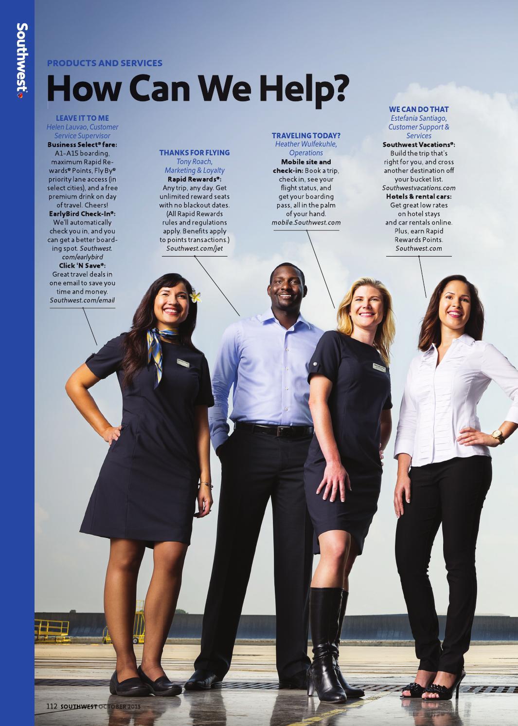 October 2015 By Southwest The Magazine