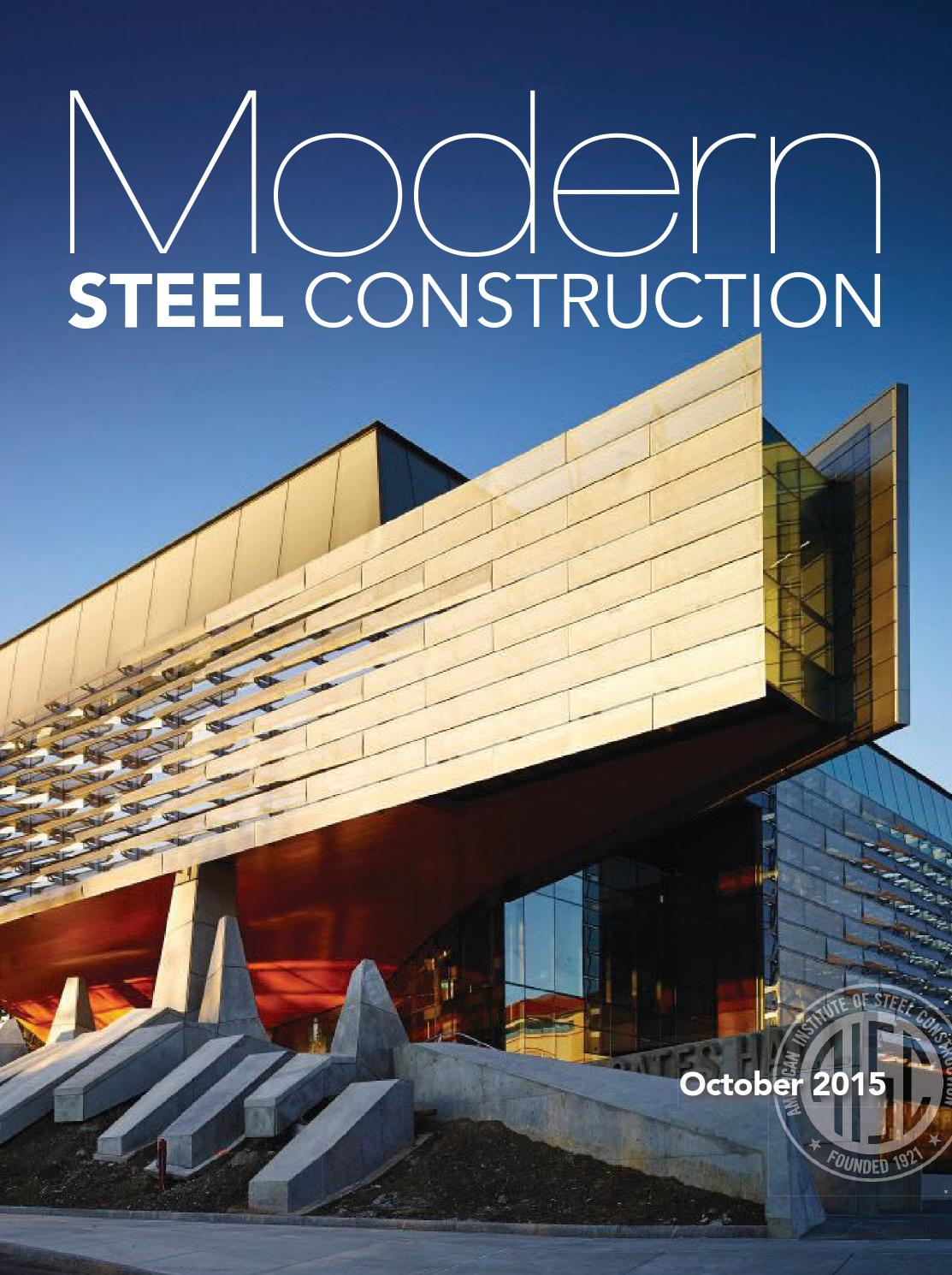 Modern Steel Construction October 2015 By Beerolercasre