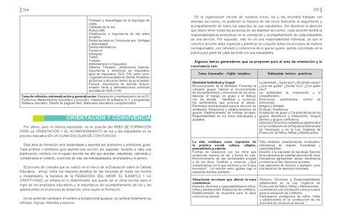 Proceso De Cambio Curricular En Educación Media By Luis