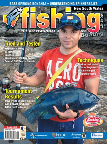 1cd8da4f389 New South Wales Fishing Monthly - October 2015 by Fishing Monthly ...