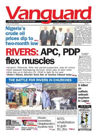 Rivers Apc Pdp Flex Muscles By Vanguard Media Limited Issuu