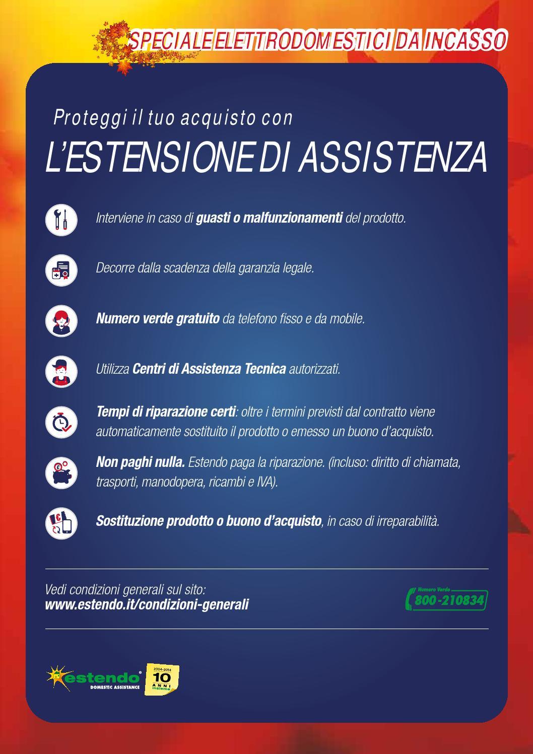 Numero Verde Estendo.Speciale Elettrodomestici Da Incasso Trony By Leonardelli