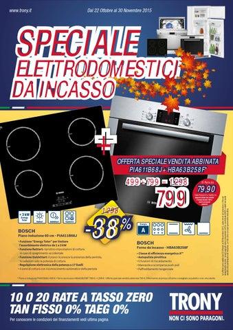 Speciale Elettrodomestici da Incasso Trony by Leonardelli Italia - issuu