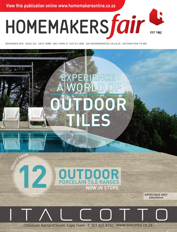 Homemakersfair Cape Town November 2015 By Homemakers Issuu