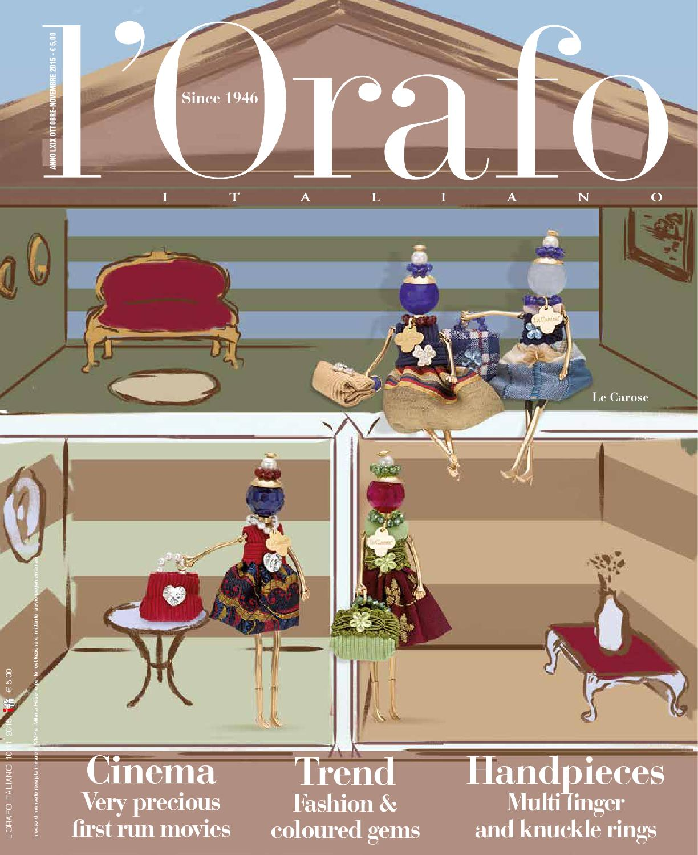 l Orafo Italiano 10-11 2015 by Edifis - issuu 8a7d6fc6f5f3