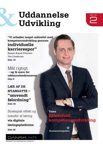 Uddannelse   Udvikling nr. 2 2015 by DANSK HR - issuu 840ba50d229f7