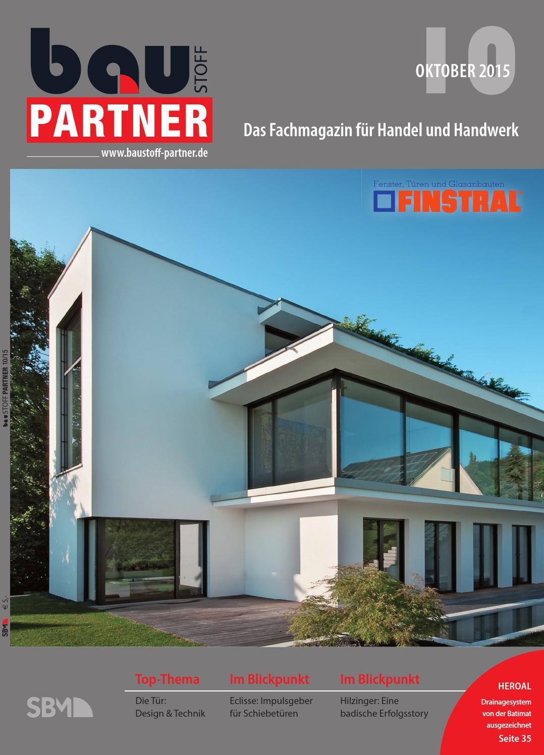 Baustoff-Partner Oktober 2015 by SBM Verlag GmbH - issuu