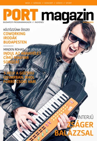 PORT magazin november by Fidelio Media Kft. - issuu 8322de062a
