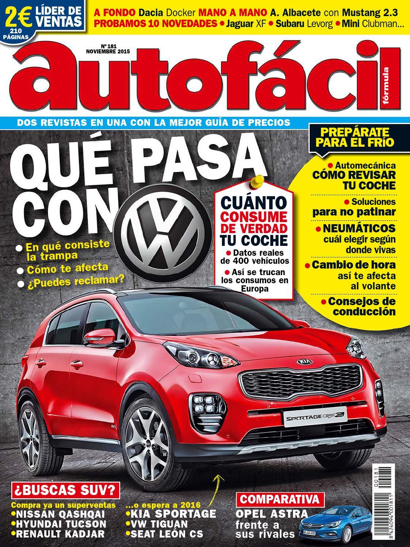 48abff28d6 Autofácil Nº 181. Noviembre 2015 by LIDER - issuu
