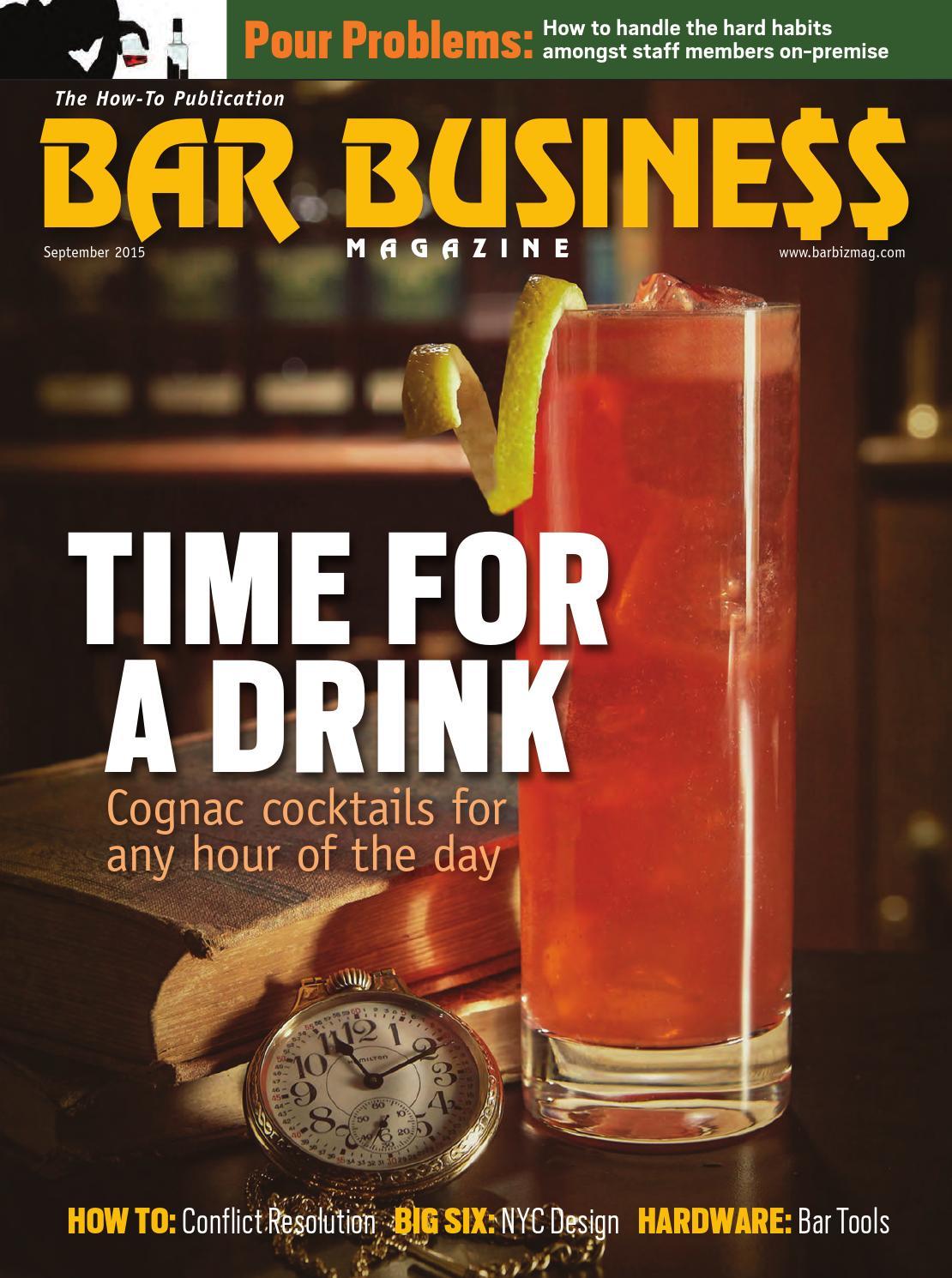 September 2015 Bar Business by Bar Business Magazine - issuu
