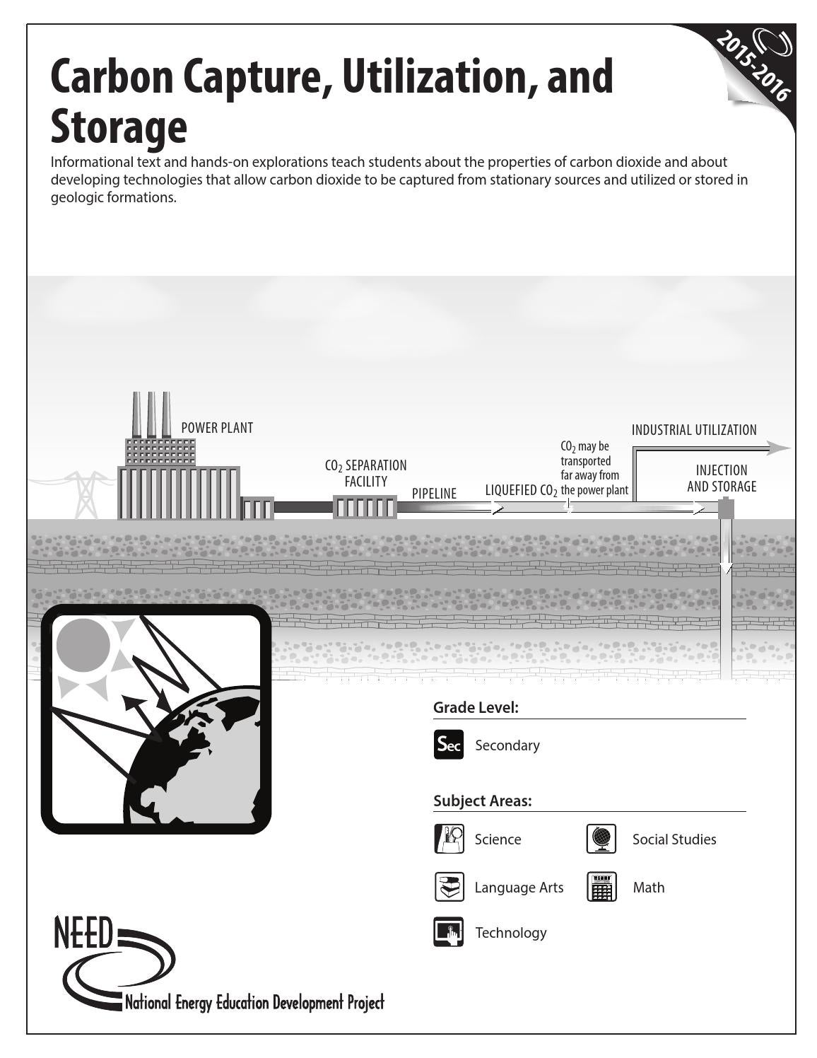 Carbon capture utilization and storage by need project issuu nvjuhfo Image collections