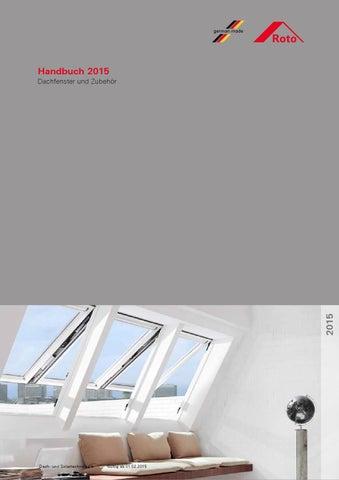 roto produkt katalog handbuch 2015 by werbeagentur 4c. Black Bedroom Furniture Sets. Home Design Ideas
