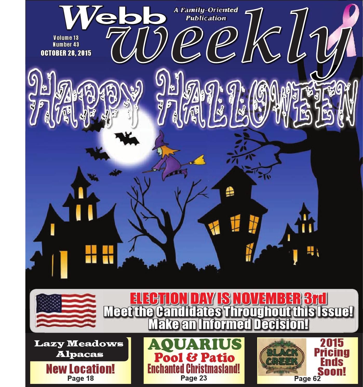 webb weekly october 28 2015 by webb weekly issuu
