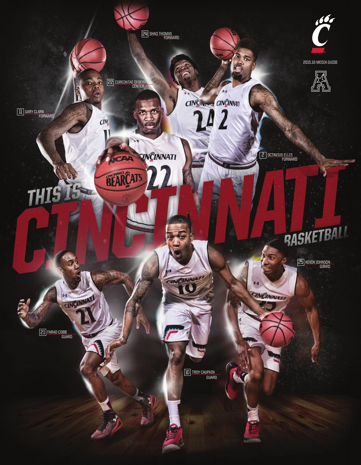 f3e57a299 2015 16 Cincinnati Men s Basketball Media Guide by UCBearcats - issuu