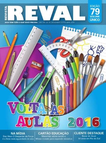 1c9b7b0546 Revista Reval 79 - Parte 02 by Reval Atacado de Papelaria Ltda. - issuu