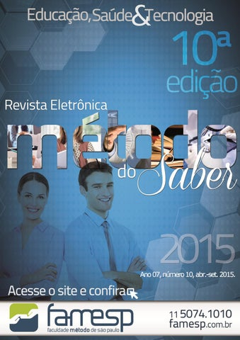 Revista Método do Saber Ano 7 Número 10 by FAMESP - issuu 473586c5c2