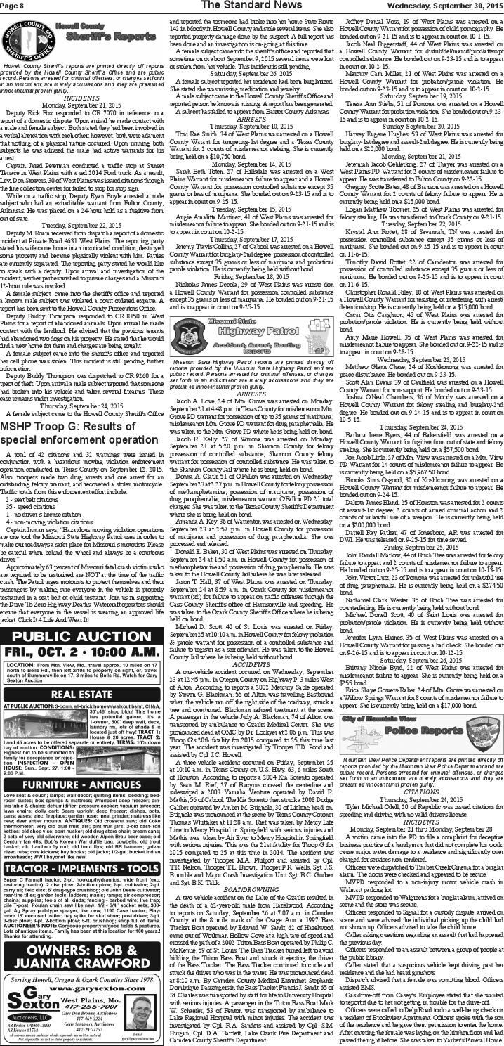 Mv standard issue 9 30 2015 by Mountain View Standard News