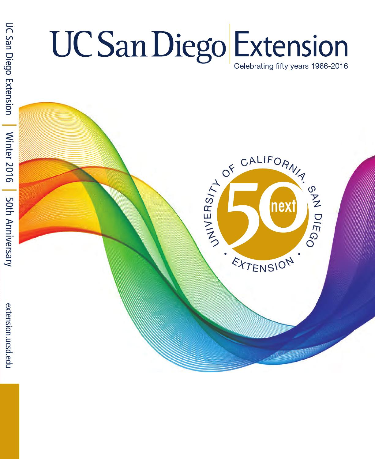 Catalog | Winter 2016 | UC San Diego Extension by UC San Diego ...