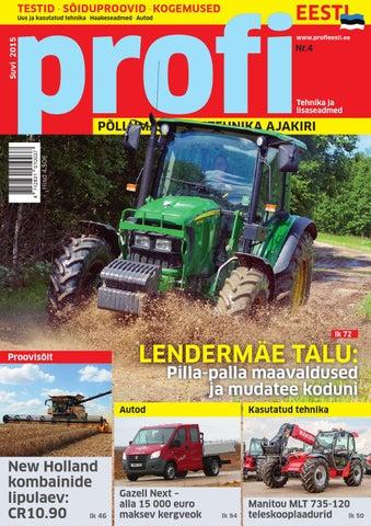 86a0084e243 Profi Eesti, suvi 2015 by Baltic Publishing Group - issuu