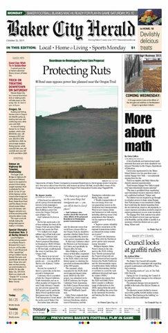 Baker City Herald 10-26-15 by NorthEast Oregon News - issuu