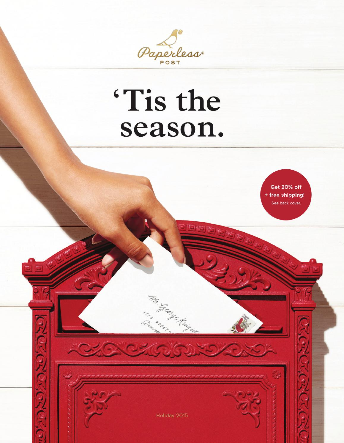 Paperless Post Holiday Catalog 2015 by Paperless Post - issuu
