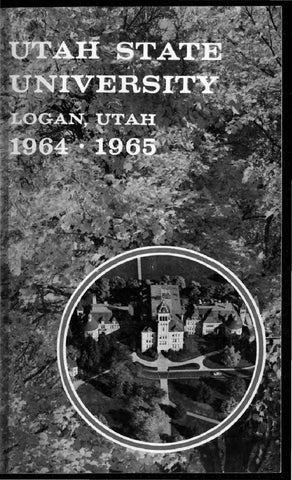 USU General Catalog 1964 by USU Digital Commons - issuu 91364ec83b3d9