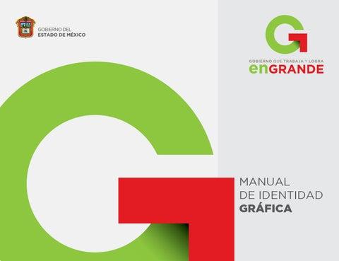 Manual identidad estado de mexico logos by cecilia