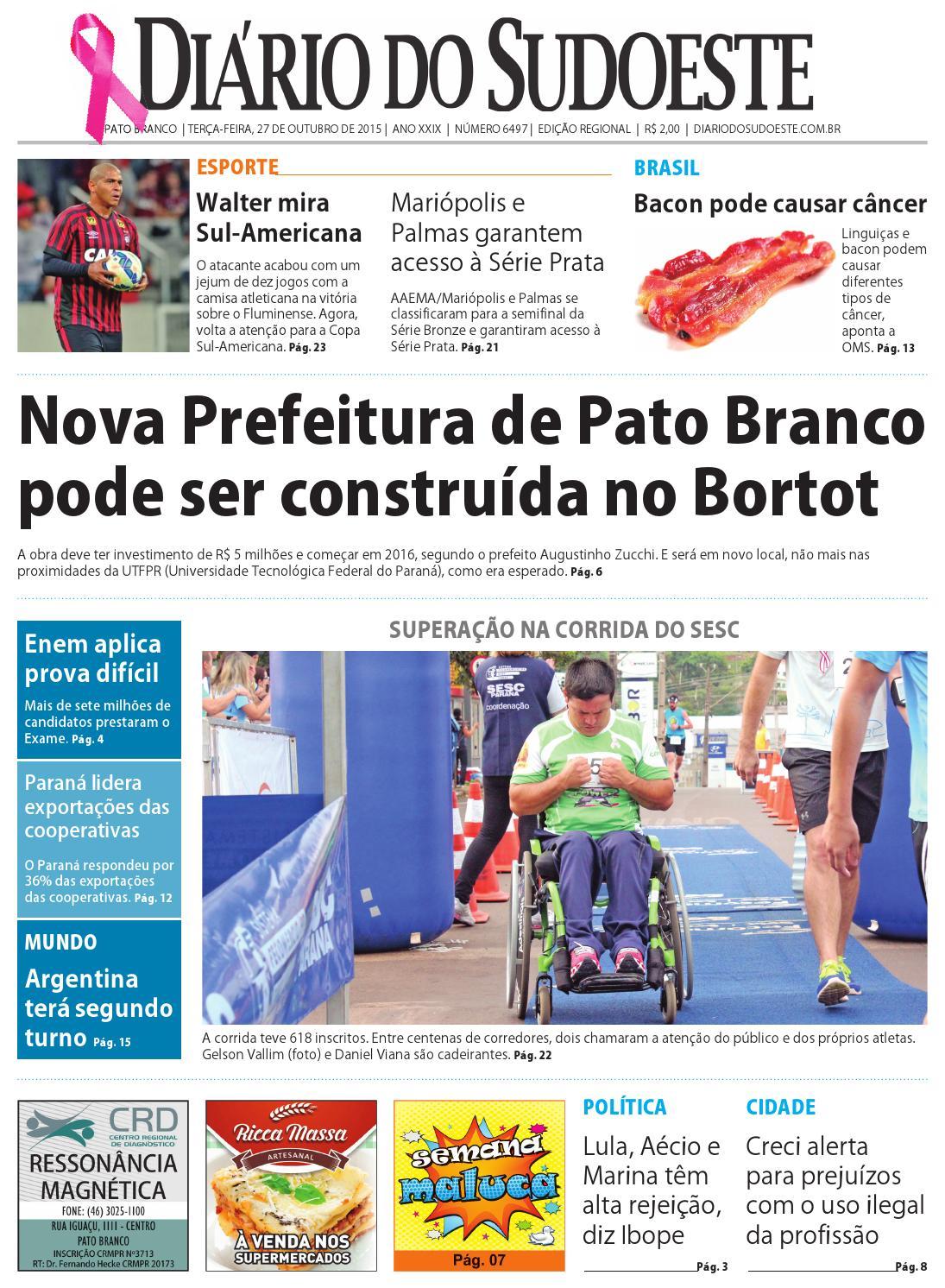 3e5c307d42c89 Diário do sudoeste 27 de outubro de 2015 ed 6497 by Diário do Sudoeste -  issuu