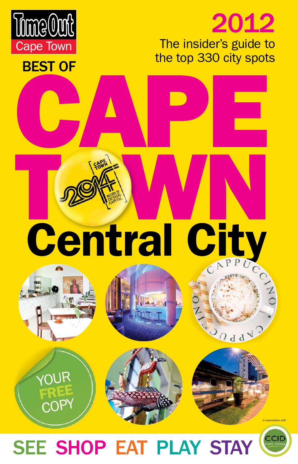 Best Of Cape Town Central City Guide 2012 By Improvement District