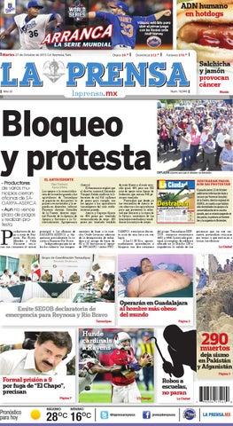 2d58084629b8ff La Prensa de Reynosa 27102015 by La Prensa de Reynosa - issuu