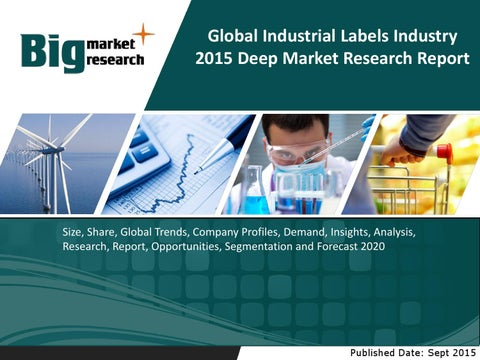 4a1bb938 Global industrial labels industry | Size | Share | Trends | Forecast