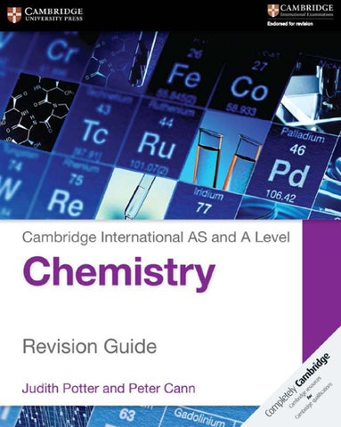 Preview Cambridge International AS and A Level Chemistry