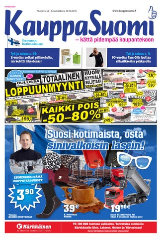 KauppaSuomi 44 2017 (K-P) by KauppaSuomi - issuu cd455db80a