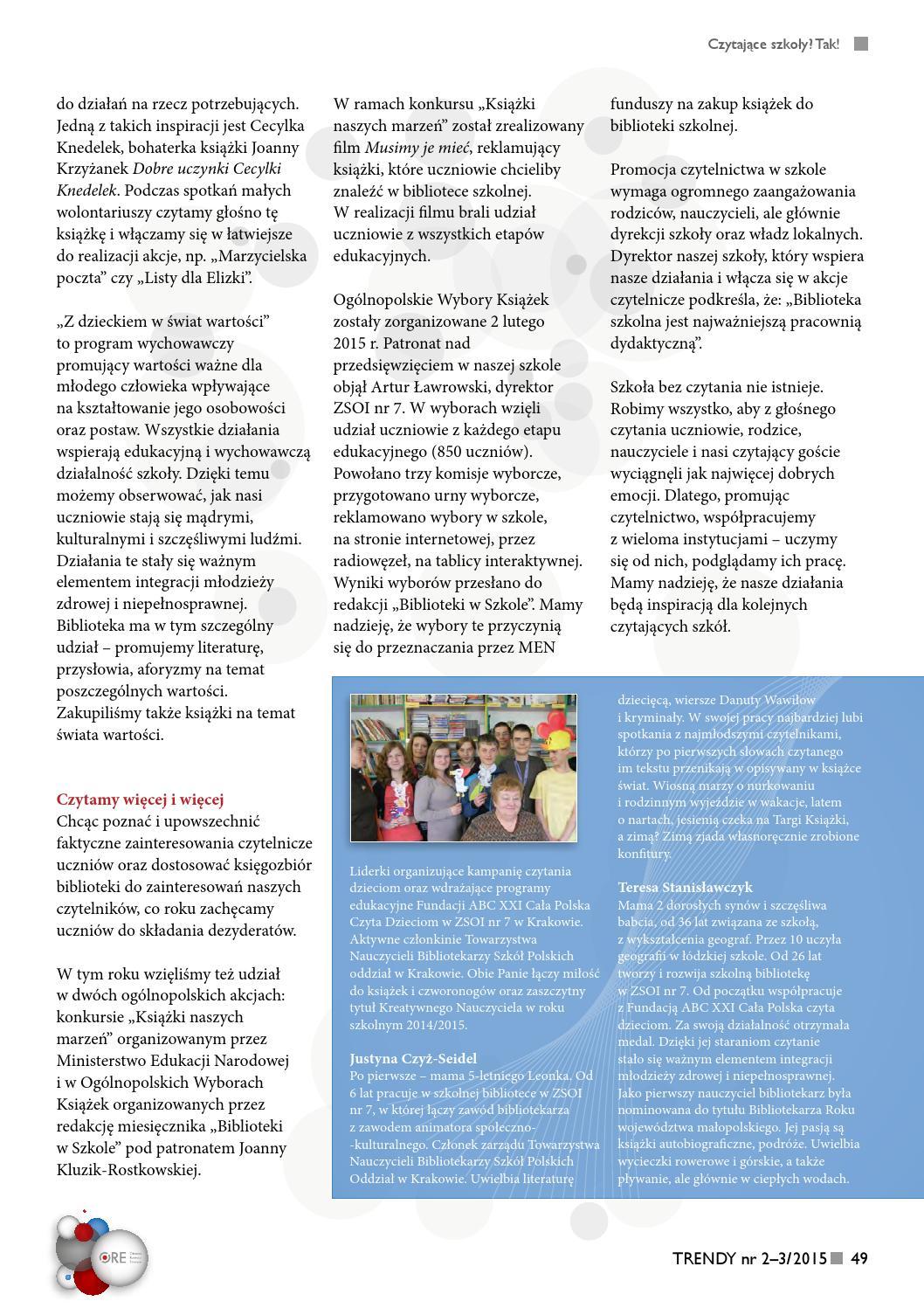 Trendy 2 32015 By Ośrodek Rozwoju Edukacji Issuu