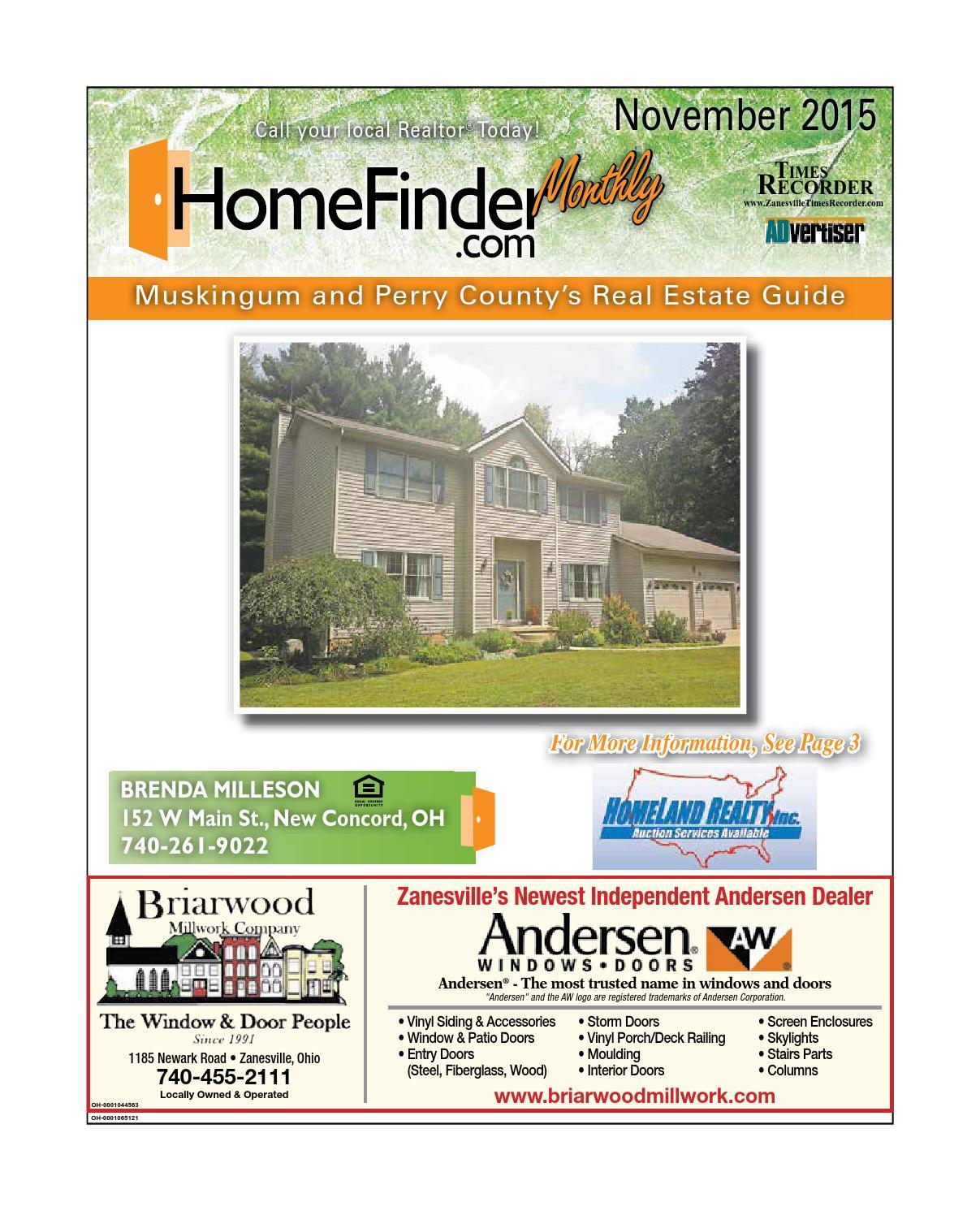 November 2015 Zanesville Homes Monthly By Enquirer Media