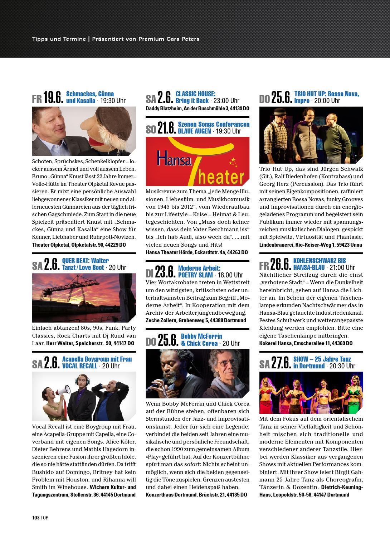 2015-02: TOP Magazin Dortmund | SOMMER by TOP Magazin Dortmund - issuu